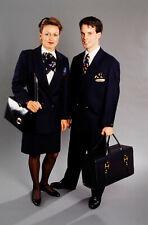 SWISSAIR AIRLINES STEWARDESS CABIN CREW FLIGHT ATTENDANT UNIFORM COLLANI 1995