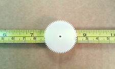 Qty 5 : 60 Tooth 31mm Plastic Gear Cog Wheels for 2mm Model Gearbox Shafting