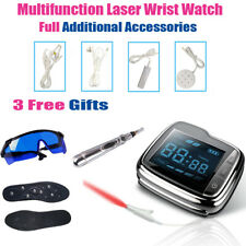 LASTEK Laser Therapy Wrist Watch Kit + Gifts For Hypertension Deafness Treatment