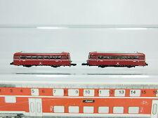 BB454-0,5# 2x Märklin mini-club Z Modell DB: 8816 Schienenbus+8817 Beiwagen s.g.