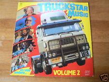 LP RECORD VINYL COVER DAF 2800 TRUCK TRUCKSTAR MUSIC VOLUME 2