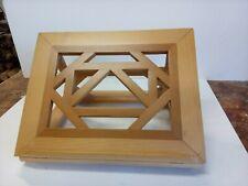 leggio da tavolo in legno artigianale