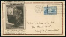 Mayfairstamps Newfoundland Fdc 1941 Sir Wilfred Grenfell St Anthony First Day Co