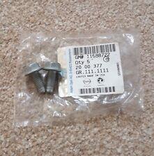 1998-16 honda accord bracket power steering pump bolt 10x50 95701-10050-08 1b913