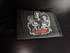 Loverboy wallet Nylon tri fold hipster rock 80's mega super rare