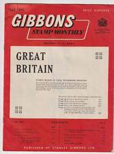 Gibbons Stamp Monthly - May 1958 (Ghana Israel Occuped Burma)