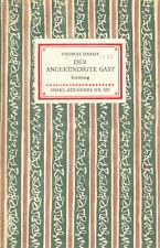 Thomas Hardy - Der angekündigte Gast - Insel Bücherei Inselbuch Nr. 307
