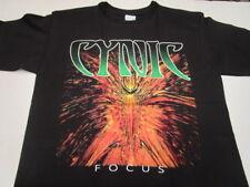 CYNIC focus T-SHIRT MEDIUM, DEATH NASTY SAVAGE ATHEIST PESTILENCE
