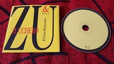 ZUCCHERO ** El Gran Baboomba ** RARE 2004 Spain PROMO CD SINGLE w/ SPANISH TRACK