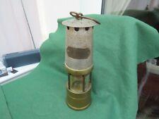 J H NAYLOR LTD WIGAN BRASS & ALLOY MINERS SAFETY LAMP
