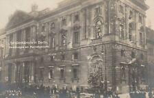 Foto AK Berlin Straßenkämpfe in Berlin Zerstörungen am Marstallgebäude 1928