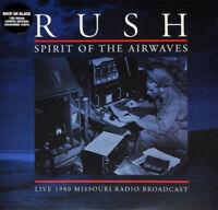 RUSH SPIRIT OF THE AIRWAVES LIVE DOUBLE GREY VINYL LP SEALED 2014
