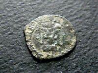 HENRI III DE NAVARRE HENRI II DE BEARN 1572-1589. LIARD AU H & M MORLAAS **RR2**