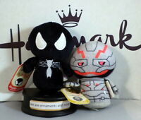 Hallmark Itty Bittys Marvel Spider Man and Ultron with tags