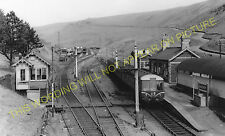 Maerdy Railway Station Photo. Ferndale, Tylorstown and Porth Line. Taff Vale (2)