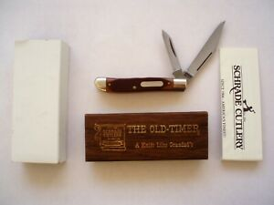 SCHRADE USA 72OT OLD TIMER DOG LEG  JACK KNIFE