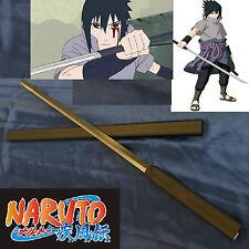 Anime Naruto Shippuden Uchiha Sasuke Kusanagi Ninja Sword Black & Scabbard