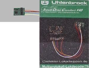 UHLENBROCK 76320 Lokdecoder 8-polige Schnittstelle NEM 652 DCC+Motorola NEU OVP