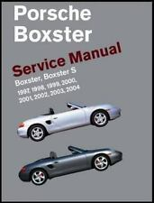 Porsche Boxster, Boxster S Service Manual: 1997-2004: By Bentley Publishers
