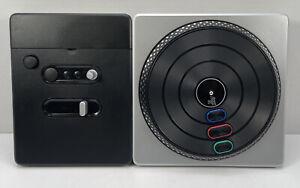 DJ Hero Wireless Turntable Controller For Nintendo Wii Working (No Game)