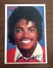 Michael Jackson Autogrammkarte Bravo Jugendmagazin 1980 Gratis Versand in D