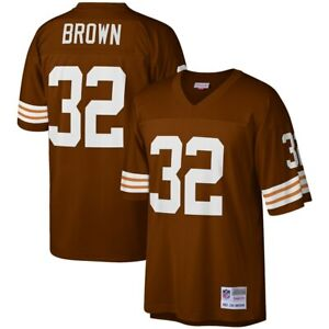 Cleveland Browns Jim Brown #32 Mitchell & Ness Brown 1963 Retired Player Jersey