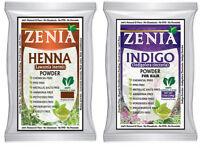 500g each 2018 Henna + Indigo Powder For Hair Pack USA seller Natural Dye Kit