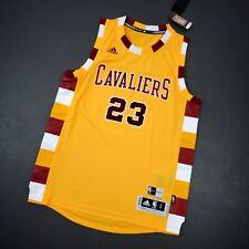 100% Authentic Lebron James Adidas Cavaliers HWC Swingman Jersey Size L Mens