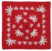 "Marijuana Leaves Leaf Pot Weed Bandana Biker Club Cotton 22/"" x 22/"""