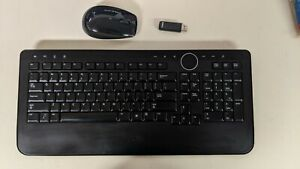 Dell Y-RBP-DEL4 US English 104-Key Wireless Multimedia Keyboard and Mouse 0M756C