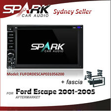 SPARK CARPLAYER ANDROID AUTO GPS DVD SAT NAV IPOD BT SD FOR FORD ESCAPE 2001-05