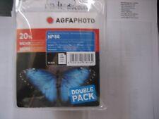 AgfaPhoto twinpack c9502ae 2x HP N. 56 6656 AE BLACK 2x24ml OVP Deskjet 5150
