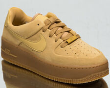 Nike Air Force 1 Sage Low Women's Club Gold Athletic Lifestyle Sneakers Shoes
