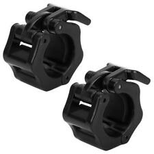 2x Olympic Dumbbell Barbell Bar Lock Weight Clamps Collars Gym Training 28mm