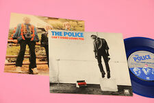 """POLICE 7"""" CAN'T STAND LOSING YOU ORIG 1980 EX BLUE VINYL + INSERTO TESTI"""