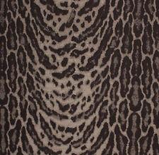 Brown Cheetah Animal Print jaguar Jungle Tribal Fabric Upholstery Drapery PV3