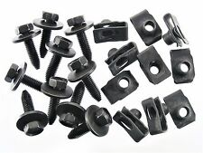 Mopar Body Bolts & U-nut Clips- M8-1.25mm x 30mm Long- 13mm Hex- Qty.10 ea- #154