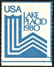 Lake Placid Olympic Poster Stamp (1980) No Gum
