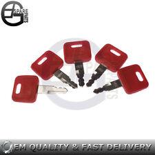 5pcs/lot Keys H800 for Hitachi&John Deere Excavator Case Dozer&Fiat&New Holland