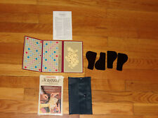 1978 Selchow & Righter Pocket Edition Scrabble Game in Box Excellent Missing 3