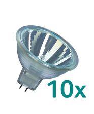 10x Osram Halogen Reflektor 50 W  Decostar 51S MR16 GU5,3  36°  44870 WFL