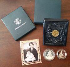 "1995 ""S"" US Mint Civil War Battlefield 2-Coin Commemorative Set w/ OGP & COA"