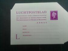 Nederland luchtpostblad Geuzendam 2 ongebruikt