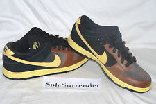 Nike Dunk Low Premium SB Black and Tan - SIZE 8.5 - 313170-270 Newcastle Guiness