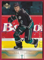 2001-02 Upper Deck Exclusives #3 Mike Leclerc /100