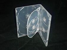 6 vías Multi super claro caso de DVD/CD (10 un.) 14mm columna vertebral