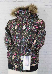 Burton Twist Bomber Youth Snowboard Jacket Girl's Medium Elsa & Anna Frozen New