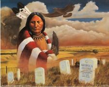 The Great Sioux Sitting Bull Native American Wall Decor Art Print Poster (16x20)