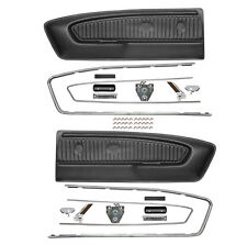 1965-1966 Ford Mustang Pony Door Panel Conversion Kit Black