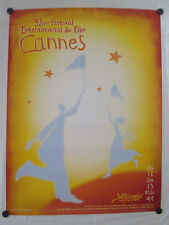 "CANNES FILM FESTIVAL 1999  ORIGINAL OFFICIAL POSTER 69"" X 47"" VERY LARGE, ROLLED"